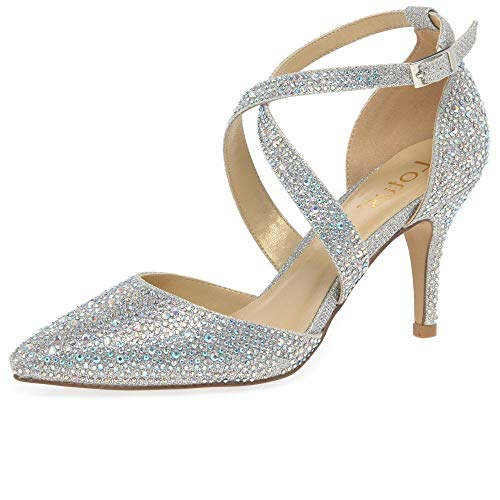 Lotus Damen Star Pumps, Silber (Silver Jj), 41 EU