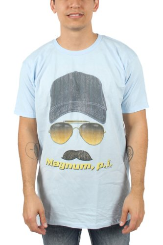 Magnum P.I. Tom Selleck Faded Graphic T-shirt, Slim Fit