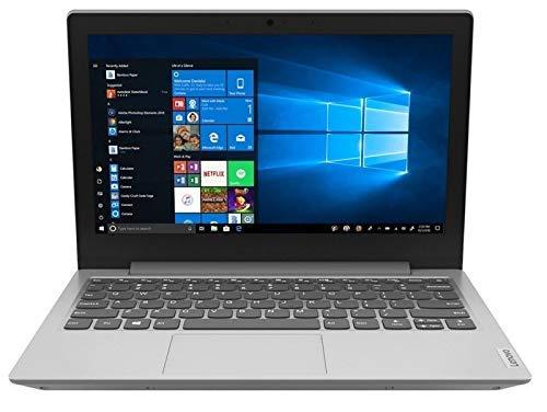 Lenovo IdeaPad Slim 1 11 Inch (11.6 Inch) HD Laptop - (AMD A4, 4GB RAM, 64GB eMMC, Windows 10 Home S Mode) - Platinum Grey (Renewed)