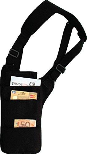 SIMBATEC Sicherheitstasche Body - Safe, Long - Das Original - verbesserte Ausführung