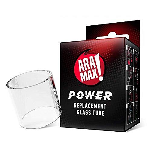 Original Aramax Power vidrio de reemplazo 2ml, Durable Pyrex tubo de repuesto (1pcs) - No contiene nicotina ni tabaco