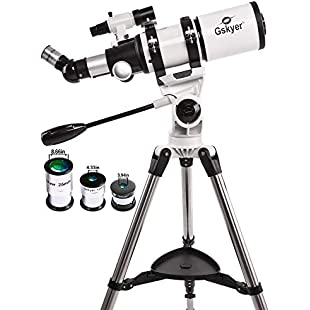 Gskyer Telescope, AZ80400 Space Astronomical Telescope, German Technoloy Refractor Telescope - Amazon Vine:Gamesbonusstar