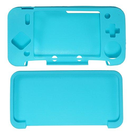 GOZAR Zachte siliconen beschermhoes Skin Sleeve Voor Nintendo Nieuwe 2DS XL/LL
