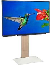 EQUALS イコールズ テレビ台 壁寄せテレビスタンド WALL V3 ハイタイプ 32~80V対応 ホワイトオーク