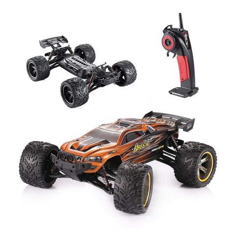 RC Truggy kaufen Truggy Bild 1: MODELTRONIC Autoradio-Fernbedienung Truggy Scale 1/12 2,4G / Geschwindigkeit 40 km/h / LiPo-Akku enthalten / Car RC XINLEHONG GPTOYS S912 ferngesteuertes Spielzeugauto (Orange Truggy 9116)*