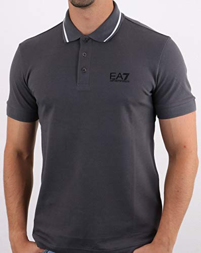 Emporio Armani EA7 Polo Shirt Charcoal 2XL