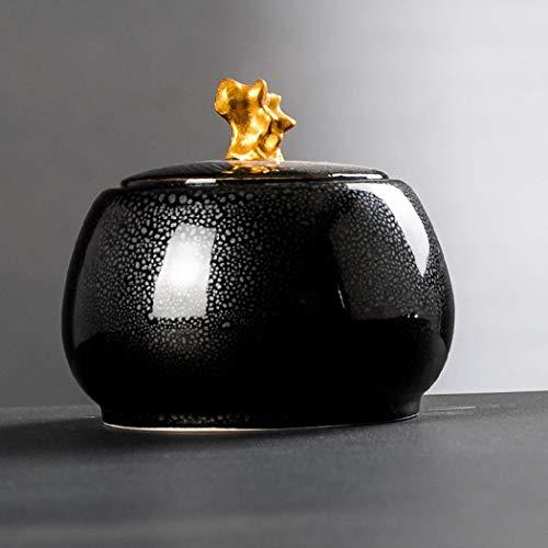 Barattolo da tè in ceramica vintage stile cinese scatole tradizionali per la casa e la cucina per...