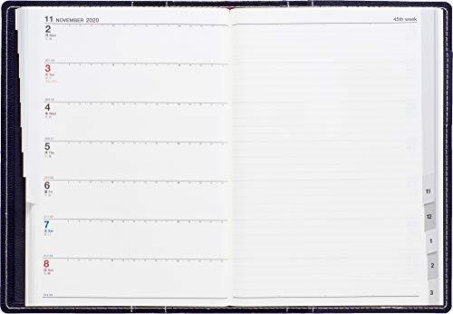 高橋手帳2020年4月始まりB6ウィークリーシャルム1ブルーブラックNo.631
