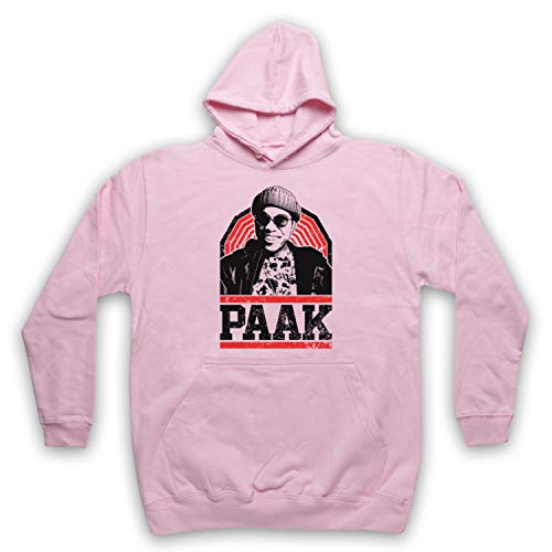 The Guns Of Brixton Anderson Paak Tribute Sweat a Capuche des Adultes, Rose Clair, 2XL