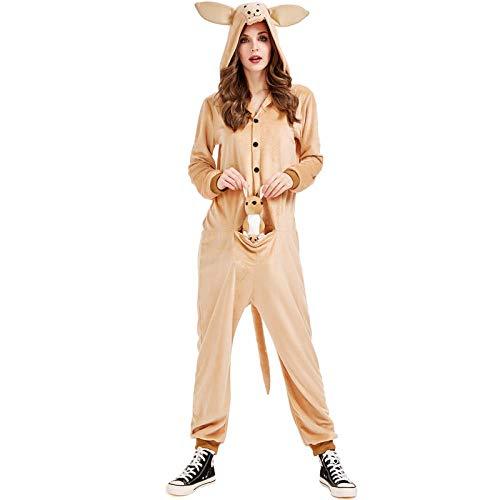Disfraz de Halloween Australia Disfraz de Canguro Animal Servicio a Domicilio de una Pieza a Europa Disfraz de Halloween