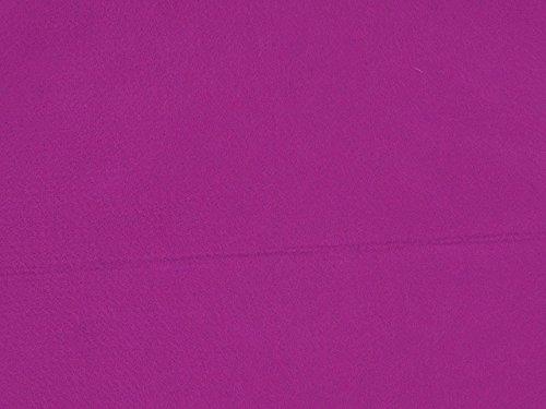 Dalston Mill Fabrics – Tessuto di Feltro Acrilico, al Metro, Larghezza 147 cm, Acrilico, Fushia, 4 m