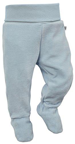 luftagoon Nicki Baby-Hose mit Fuß 100% Bio-Baumwolle für Jungen und Mädchen Strampler-Hose Strampel-Hose Baby-Strampler Baby-Kleidung Baby-Leggings Baby-Strumpfhose Baby-Pumphose Schlafhose Gr. 50/56
