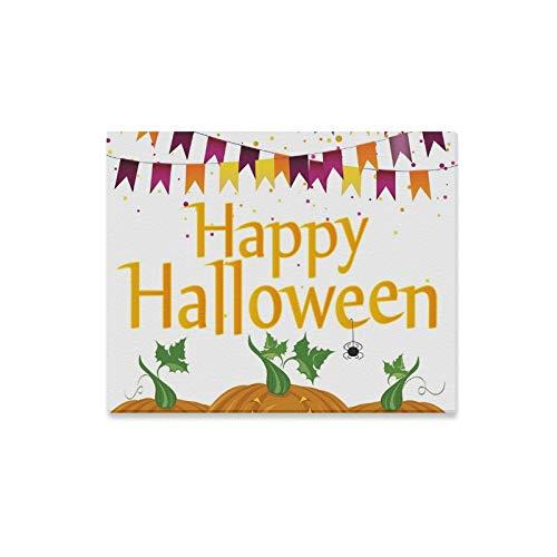 Arte de la pared Pintura Halloween Carnaval Banderas Guirnaldas Calabazas Impresiones en lienzo La imagen Paisaje Paisaje Óleo para el hogar Decoración moderna Imprimir Decoración para sala de estar