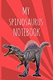 """My Spinosaurus Notebook: A Pink Starburst Dinosaur School Journal 