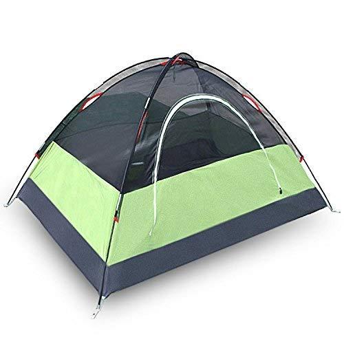 Viñedo Ultraligero Tienda de Viaje al Aire Libre Doble Carpa Acampada Impermeable a Prueba de Lluvia 200 * 100 * 90cm