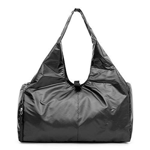 SIMEISM Unisex Canvas Sports Gym Bags Men Women Training Fitness Travel Handbag Yoga Mat Sport Bag With Shoes Compartment