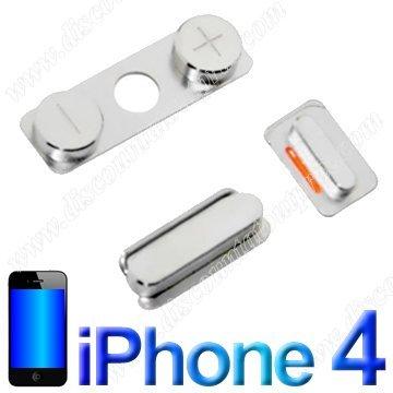 Power-knop Vibrator On Off ontsteking aluminium metaal voor iPhone 4 4G