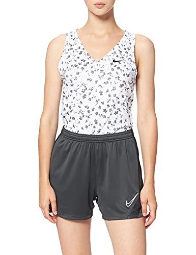 Nike Dri-Fit Academy PRO, Pantaloncini da Calcio Donna, Antracite/Nero/Bianco, S