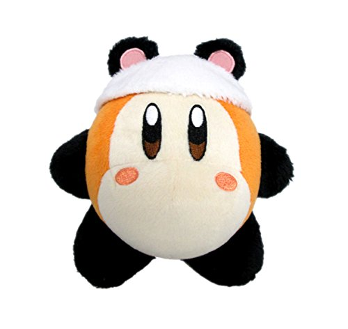 Little Buddy Kirby's Adventure All Star Collection-Waddle Dee Panda Stuffed Plush Dolls, 5.5'