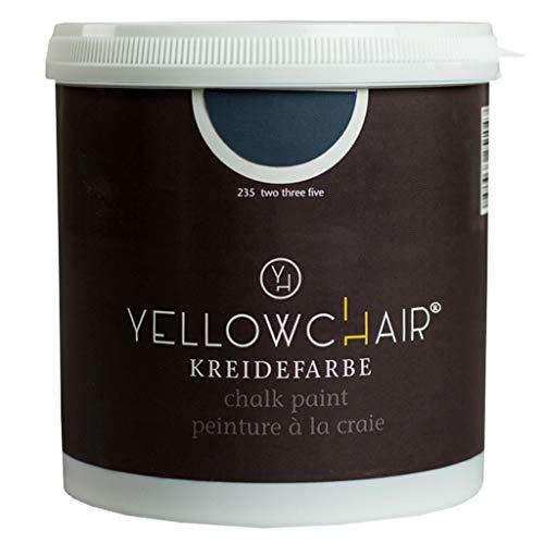 Kreidefarbe yellowchair No.235 schwarzblau ÖKO für Wände und Möbel 1 Liter