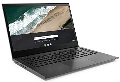 Lenovo (14,0 Zoll Full-HD) ChromeBook (1.4kg), großer 10h Akku, AMD A6 9220C 2x2.7 GHz, 4GB DDR4, 64GB eMMC SSD, 2GB Radeon, Webcam, BT, USB 3.0, WLAN, ChromeOS Laptop #6710