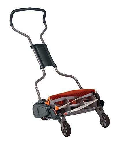 Fiskars Stay Sharp Max Reel Mower, 18 Inch (362050-1001), Black