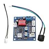 HiLetgo DC 12V 5A PWM PC CPU Fan Temperature Control Speed Controller Board Speed Controller Temperature Probe Buzzle