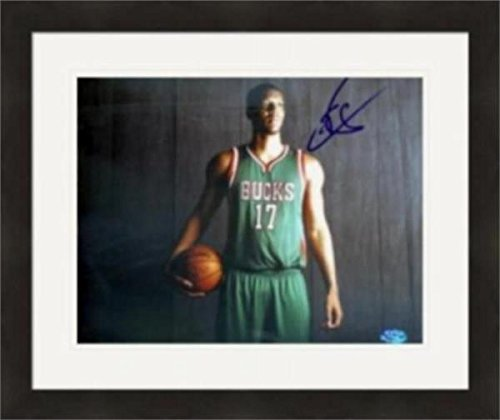 Milwaukee Bucks NBA Double Matted 8x10 Photograph Team Logo and Basketball