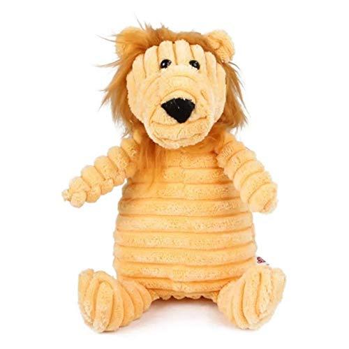 TOMMYFIELD 噛むおもちゃ ぬいぐるみ おもちゃ 犬 子犬 小型犬 大型犬 噛む 玩具 運動 運動不足 ストレス 解消 ライオン