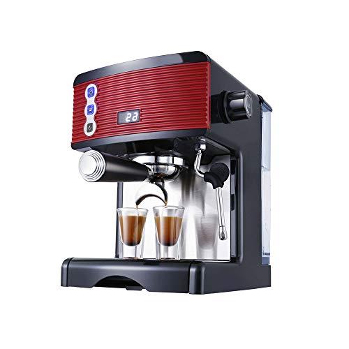 Commercieel koffiezetapparaat Professioneel koffiezetapparaat Italiaans Semi-automatisch Commercieel koffiezetapparaat Enkele pomp Stoompomp Eén machinedruk 15 bar Vermogen 1450W