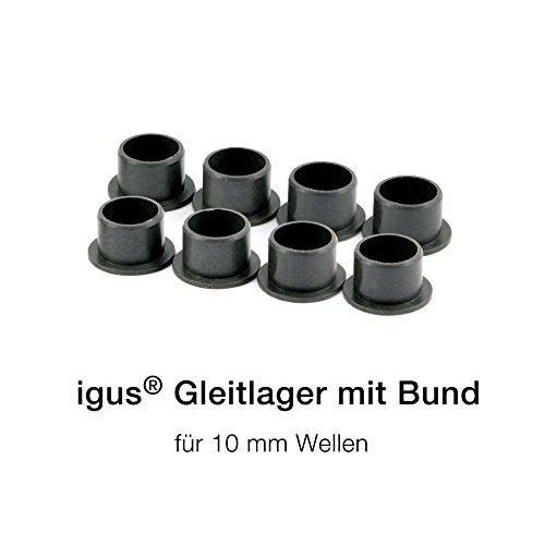 igus ® Gleitlager mit Bund- iglidur® GFM (10 mm)