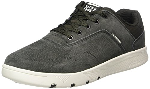 JACK & JONES Herren JFWHOUGHTON Nubuck Sneaker, Grau (Beluga), 43 EU