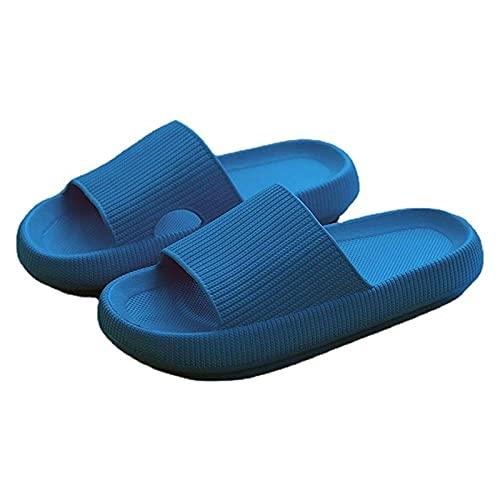 MIAOZHANG Zapatillas Verano Mujer Adultos Chanclas Verano Zapatos Playa Suave y Creativa Sandalias Ducha Niños Niñas Diapositivas Casuales,2,CN 45