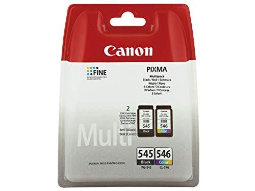 Original Druckerpatronen für Canon PIXMA IP2850, MG2450, MG2550, MG2950, MX495 inkl. Kugelschreiber (black + color)