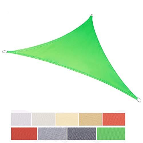 JINJINTAO-Sonnensegel Sonnenschutz-Spinnaker Schatten Polyester Wasserdichter Anti-Oxidations- Und UV-Schutz Im Freien Gekrümmte Schatten Netto-Garten Swimmingpool Markise