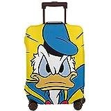 Funda protectora para equipaje de viaje con diseño de pato Donald para equipaje de 45 a 81 cm