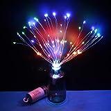 Luz de fuegos artificiales 200 luces – Caja de batería Diente de león...