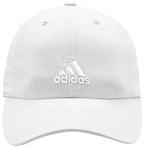 adidas Women's Saturday Cap, White/White, ONE SIZE