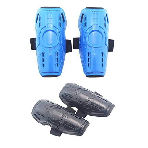 Fixti Youth Kids Soccer Shin Guards Pad,2 Pair Child Football Board Lightweight Protective Gear Perfect Fit for 5-10 Years Old Girls Boys