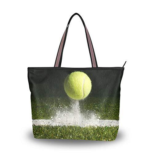 NaiiaN Bolsos con correa de peso ligero, monedero deportivo de tenis, bolso de compras para mujeres, niñas, señoras, bolsos de hombro para estudiantes
