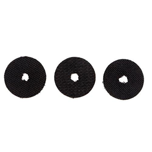 CUTICATE 3pcs Smooth Drag Carbon Drag Unterlegscheiben Set 19mm 23mm Für Angelrollen - L