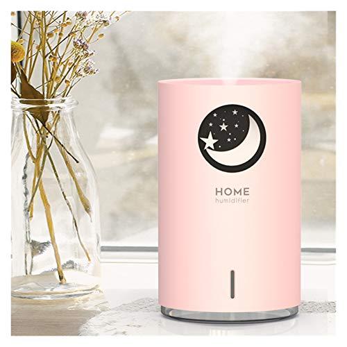 CGRTART Oso Polar Humidificador de Mascotas Lindo 700ml Capacidad Grande Aroma Air Difusor con Color LED luz Homidificador (Color : Pink Star)