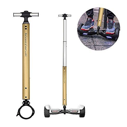 Locisne Lega di alluminio estensibile Balance motorino barra della maniglia Impugnature,Hover Scooter supporto del manubrio,supporto principianti elettrico Hoverboard per 6.5  ,10  Due ruote scooter