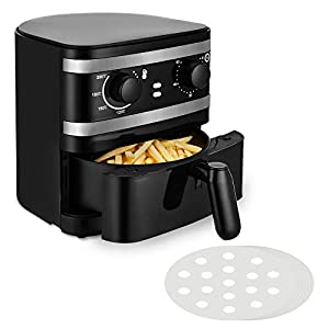 1 Quart Small Air Fryer, Mini Oil-Less Healthy Cooker, Home Use or Promotion Gift use, Non Stick Safe Fryer Basket, 60…