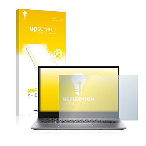 upscreen Entspiegelungs-Schutzfolie kompatibel mit Dell Inspiron 14 5406 – Anti-Reflex Bildschirmschutz-Folie Matt