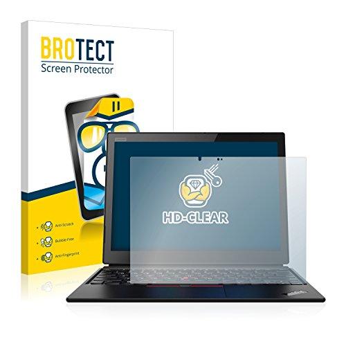 BROTECT Schutzfolie kompatibel mit Lenovo ThinkPad X1 Yoga (1. Generation) klare Bildschirmschutz-Folie