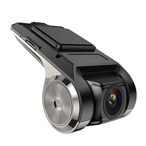 Hangang Dash CAM Car DVR Cámara para Vehículos Full HD Grabación en Bucle Grabadora de Video WiFi Android GPS USB ADAS G-Sensor 1080P Lente Gran Angular