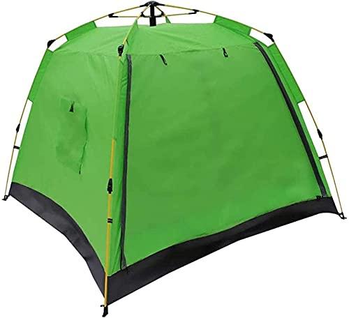 Outdoor Zelt, Camping Tragbarer Rucksack Geeignet Für 3-4 Personen Strand Sofort Geeignet Zum Wandern Trekking Bergsteigen Reisegröße: 210X210X170Cm