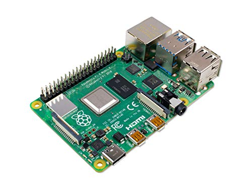 Raspberry Pi 4 Model B; 4 GB, ARM-Cortex-A72 4 x, 1,50 GHz, 4 GB RAM, WLAN ac, Bluetooth 5, LAN, 4 x USB, 2 x Micro-HDMI