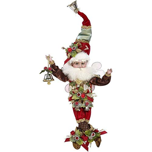 Mark Roberts 2020 Limited Edition Collection Jingle Bells Fairy Figurine, Small 10'' - Deluxe Christmas Decor and Collectible